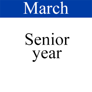 March Senior Year, Path to Graduation, Student Success
