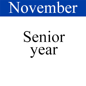 November Senior Year, Path to Graduation, Student Success