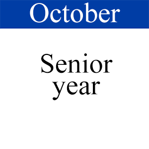 October Senior Year, Path to Graduation, Student Success