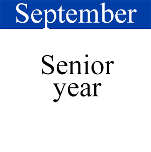 September Senior Year, Path to Graduation, Student Success