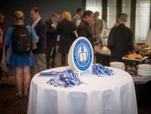 Alumni Reception Centerpiece