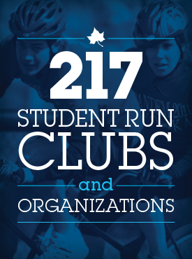 217 Student Run Clubs and Organizations