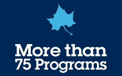 More Than 75 Programs