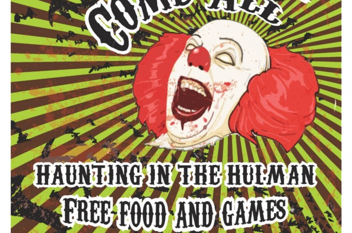 Haunted Hulman