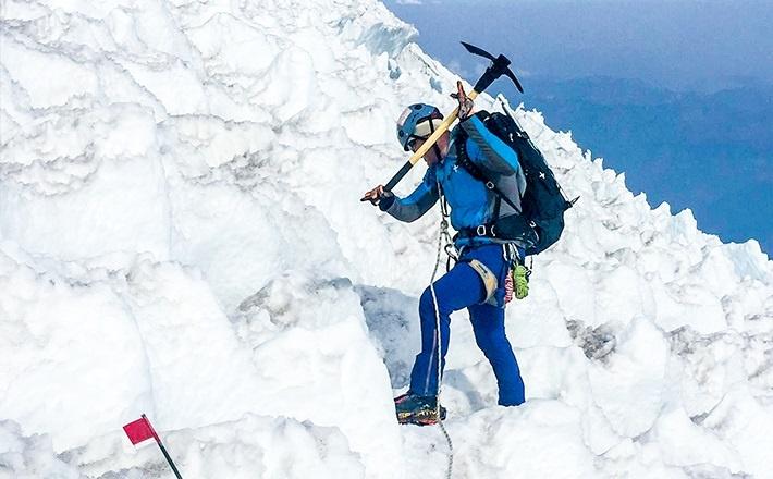 Mountain Climbing Alumnus
