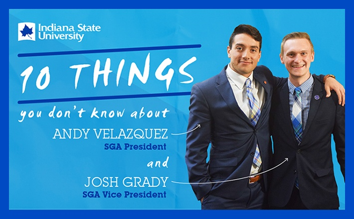 Get to know your SGA President and VP