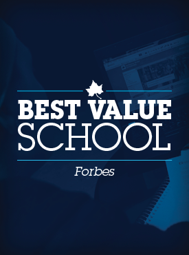 Forbes best value school