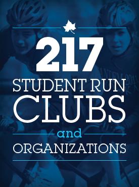 Student run organizations